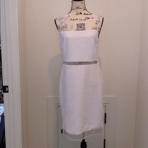 Calvin Klein Dresses & Skirts - Calvin Klein white sleeveless dress size 10 NWT